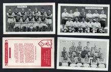TRADE  cards  Football,Everton,Tottenham,Hibernian,Arsenal, & more